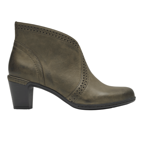 Women's Rockport-Cob Hill Vcut/ Stone Boot