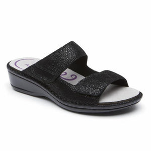 Women's Aravon Cambridge/Black Sandal
