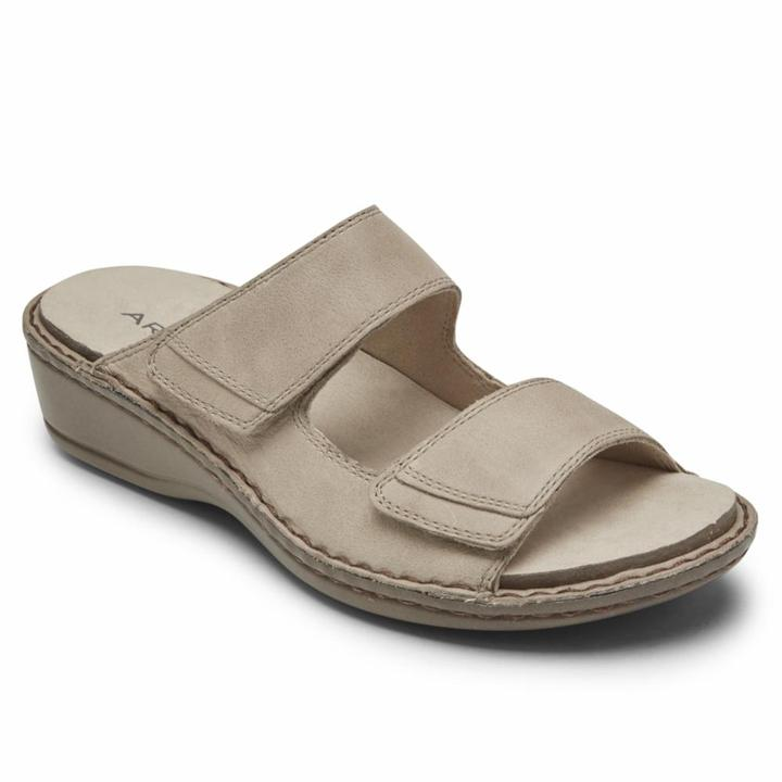 Women's Aravon Cambridge/Dove Sandal