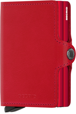 Secrid Twinwallet/Original Red-Red - Omars Shoes