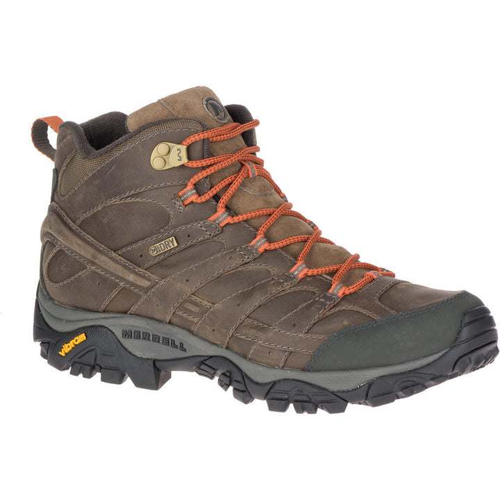 Men's Merrell Moab2 Prim Mid Waterproof/Canteen Boot - Omars Shoes