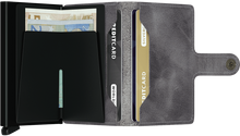 Secrid Miniwallet/ Vintage Grey-Black