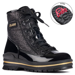 Women's Olang Pop/Black Sparkle Winter Boot
