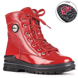 Women's Olang Sound/Red Patent Winter Boot