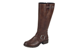Women's Rieker Z9580-25/ Brown Boot