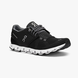 Women's On Cloud/Black White Running Shoe