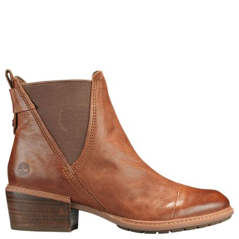 Women's Timberland Sutherlin Bay/ Brown Chelsea Boot