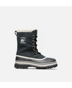 Women's Sorel Caribou/ Black Winter Boot - Omars Shoes