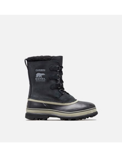 Men's Sorel Caribou/ Black Winter Boot - Omars Shoes