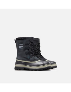 Men's Sorel Caribou/ Black Winter Boot