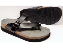 Women's Mephisto Helen Plus (Wide Fit)/Black Sandal