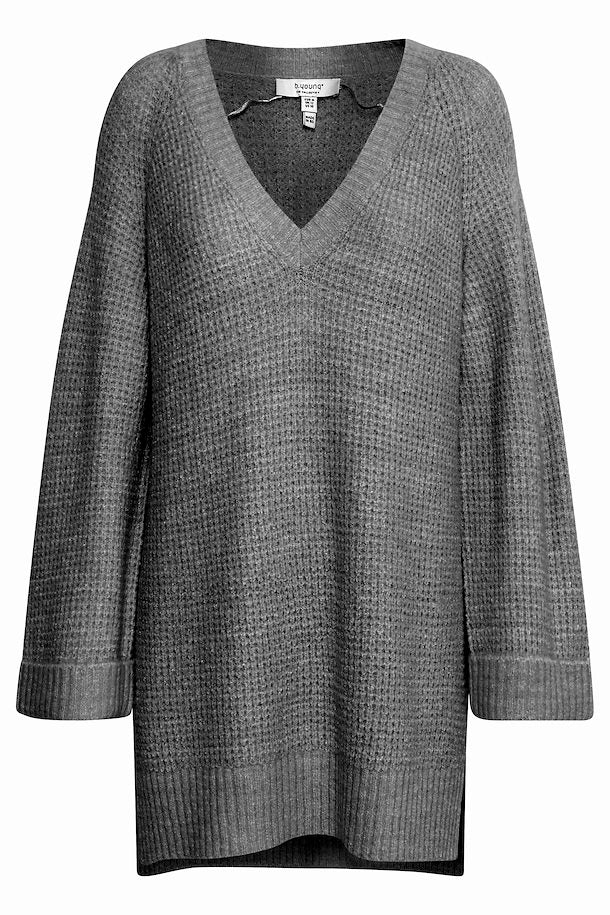 Women's B.Young Misha/Grey Knitted Tunic