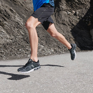 Men's On Cloudflow/Black Asphalt Running Shoe