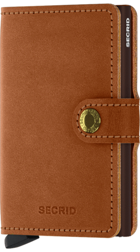 Secrid Miniwallet/Cognac-Brown