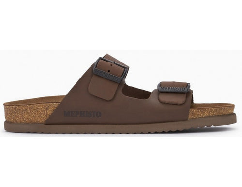 Men's Mephisto Nerio/Dark Brown Sandal
