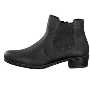 Women's Rieker Y0760-00/ Black Boot