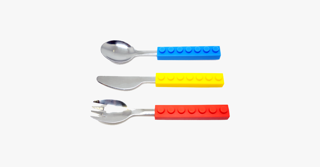 Colorful Brick Cutlery Set