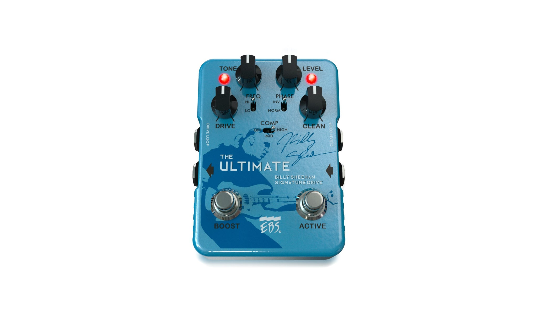 EBS Billy Sheehan Ultimate Signature Drive with extended capabilities