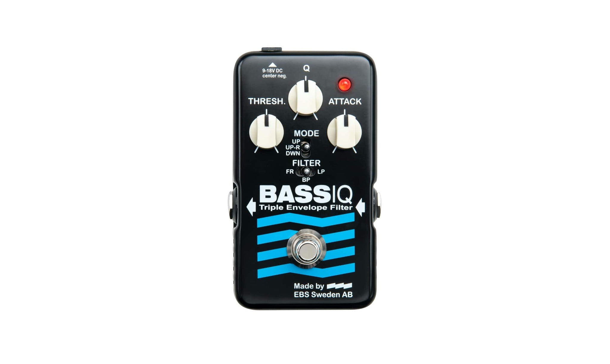 EBS presents the new BassIQ 'Blue Label' envelope filter