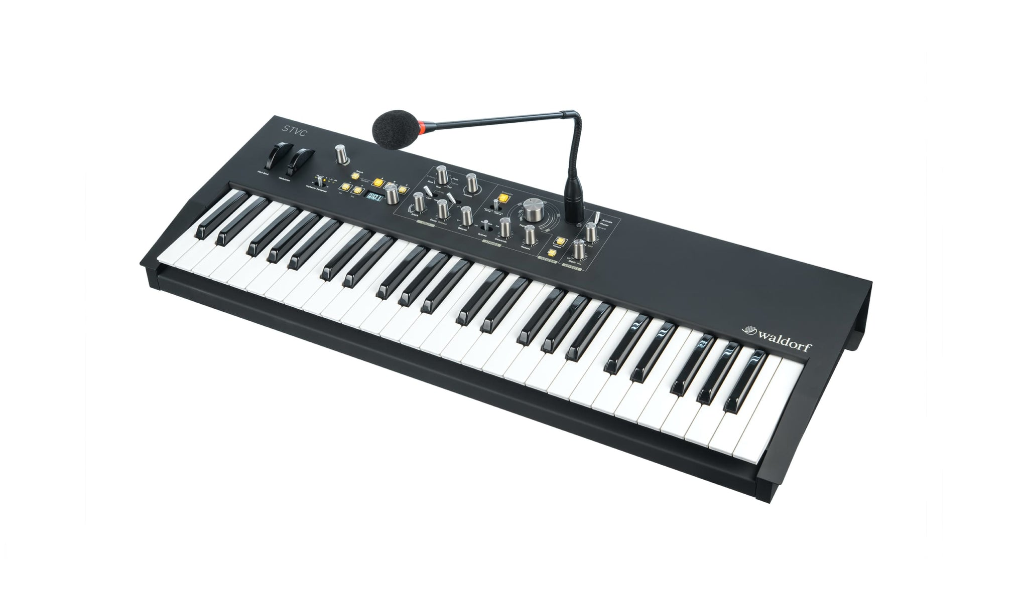 Waldorf STVC String synthesizer with a vocoder