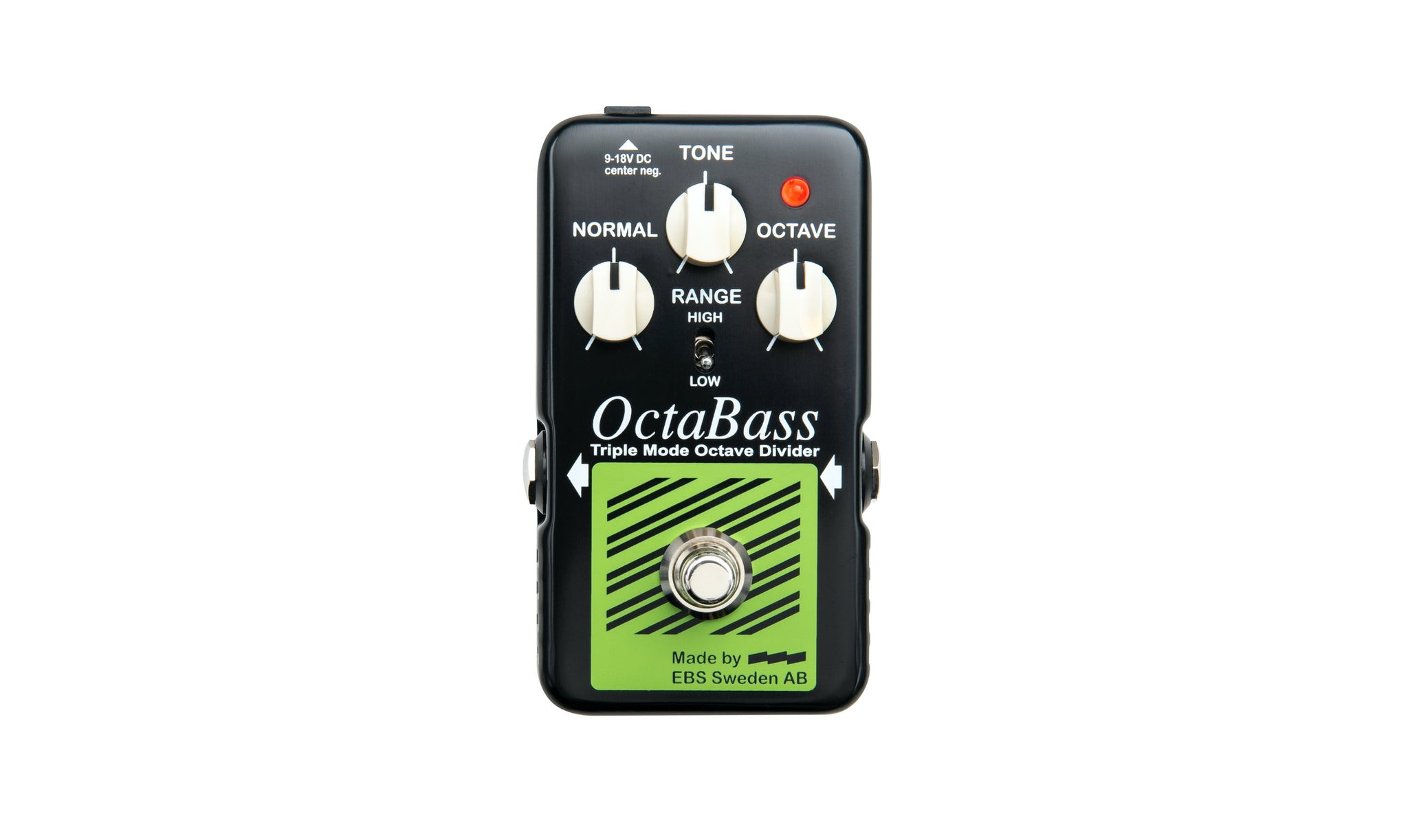 EBS launches the new OctaBass 'Blue Label' pedal