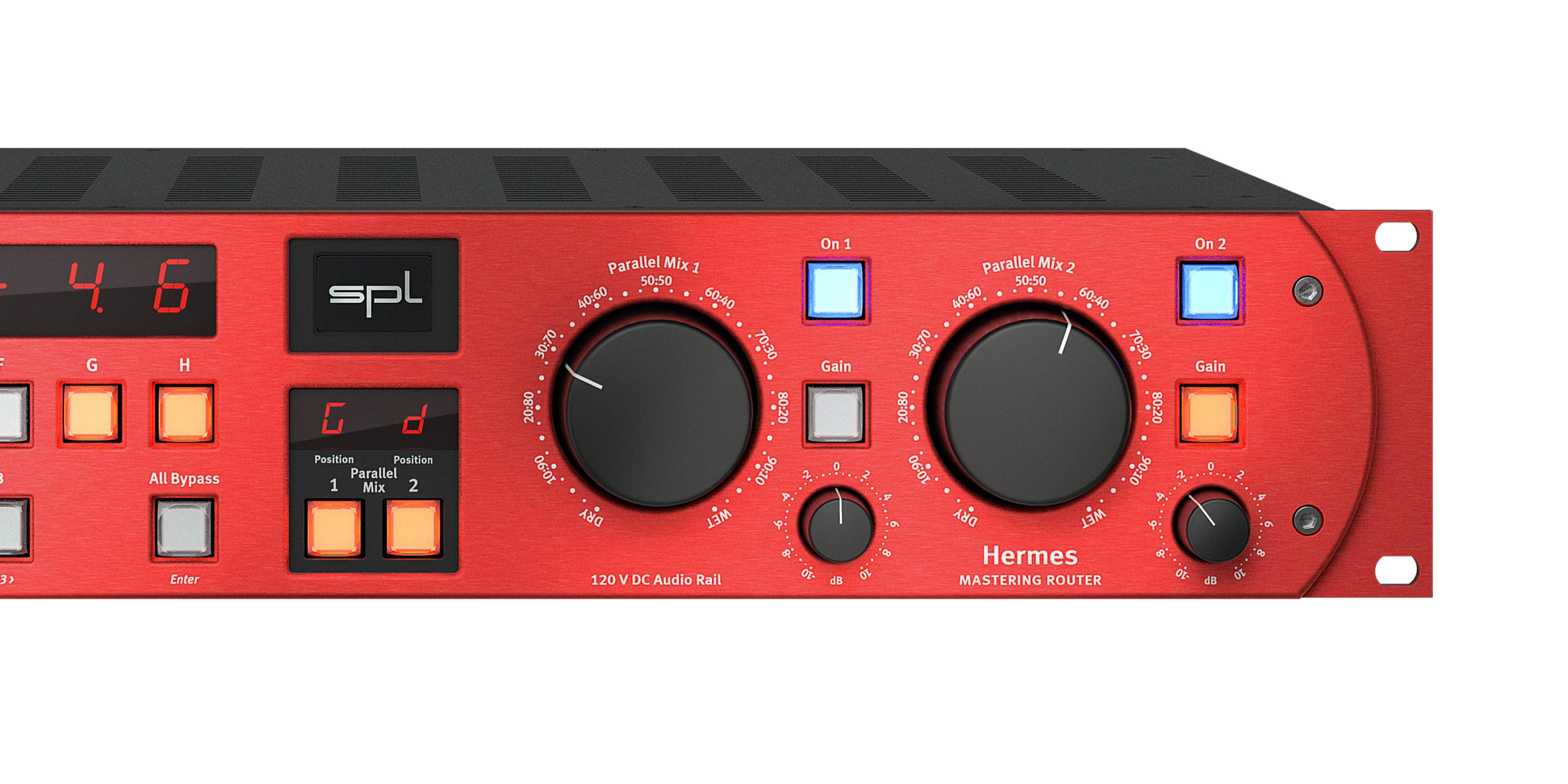 SPL Hermes Mastering Router with dual Parallel Mix