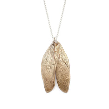 Load image into Gallery viewer, Dragonfly Wing Pendant