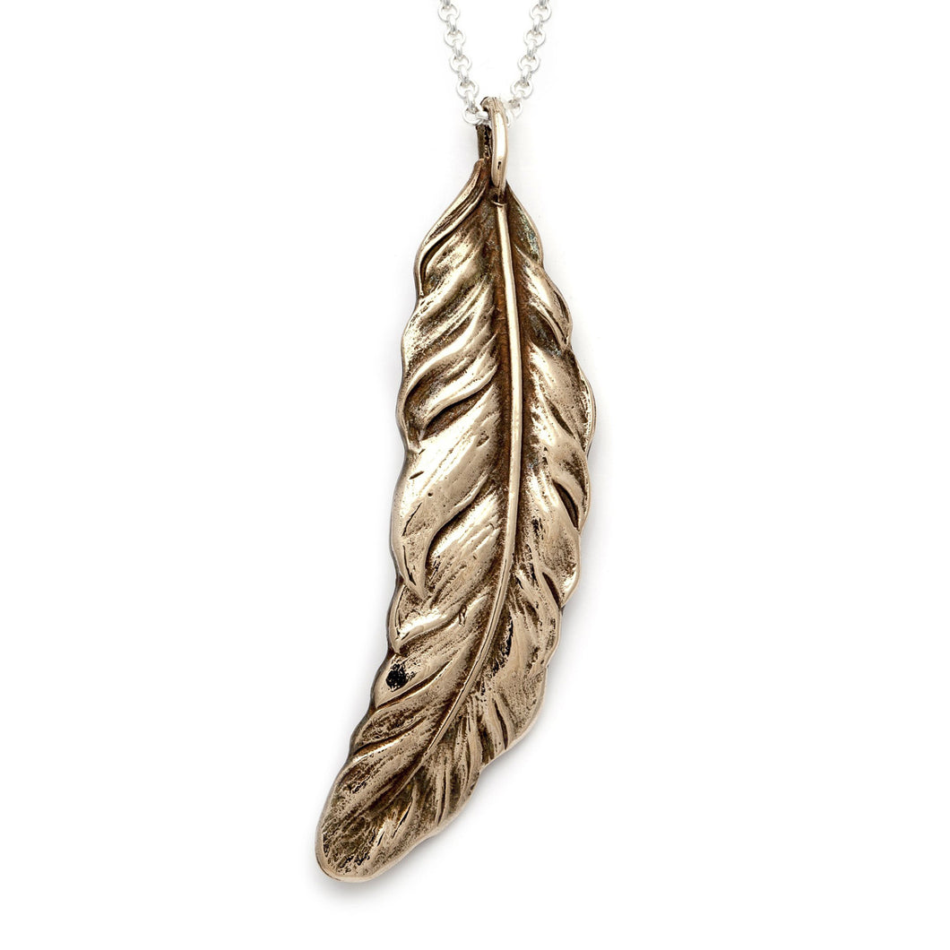 Feather Pendant | Medium
