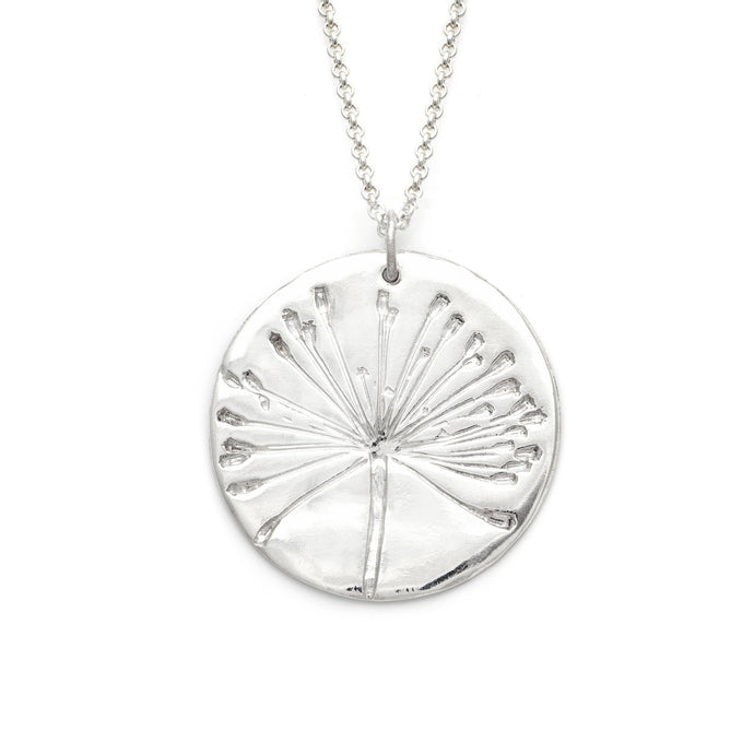 Dill Flower Pendant | Large