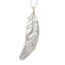 Load image into Gallery viewer, Feather Pendant | Medium