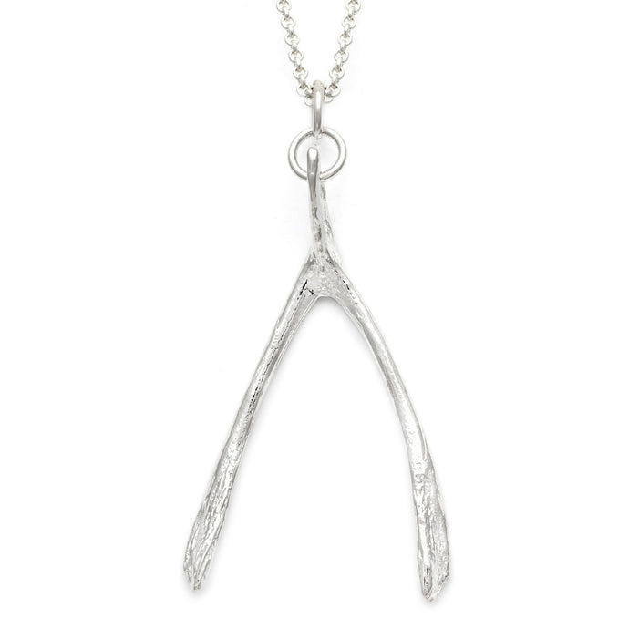 Wishbone Pendant | Large