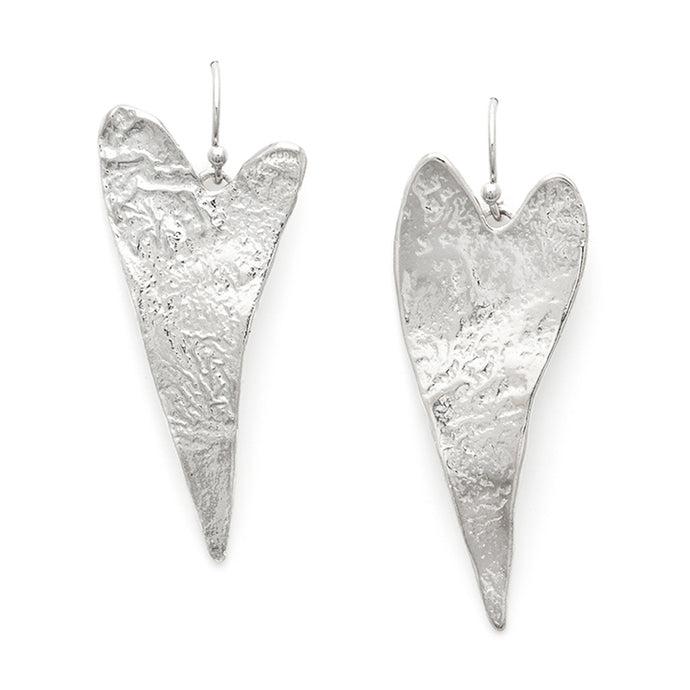 Quirky Heart Earrings