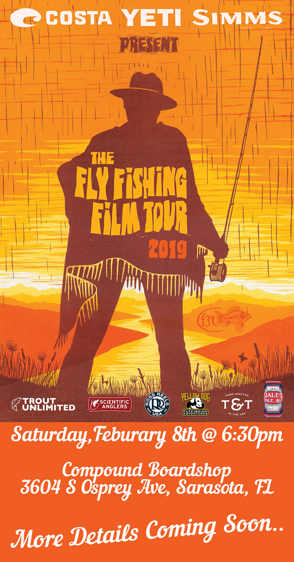 2019 Fly Fishing Film Tour