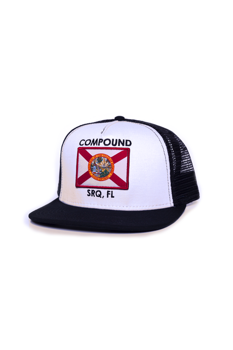 Florida Flag Patch Trucker Snap-back