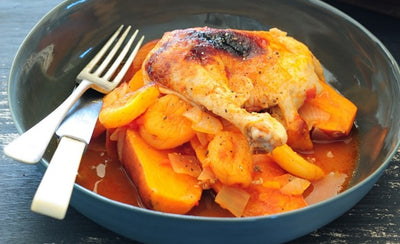 Dried Apricot and Orange Chicken