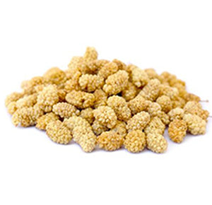 Sun-Dried White Mulberries