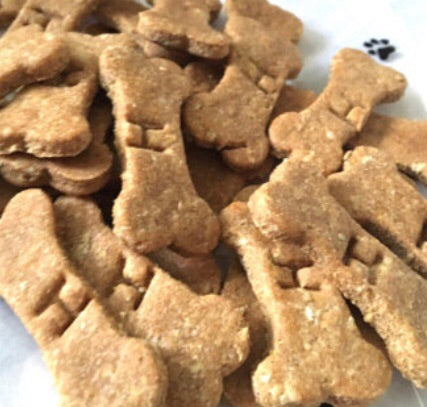 Peanut Butter Dog Bone Shaped Treats!