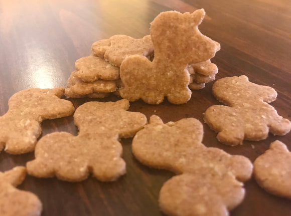 Unicorn shaped Dog Treats