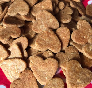 Heart Shaped Dog Treats!