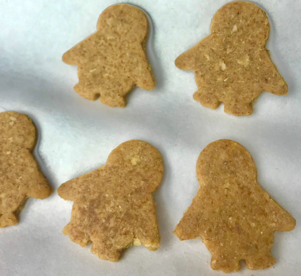 PENGUIN Shaped Dog Treats!