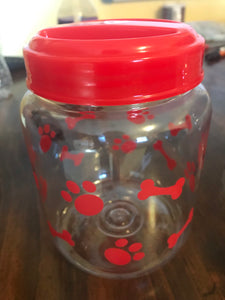 Dog Treat Jars!