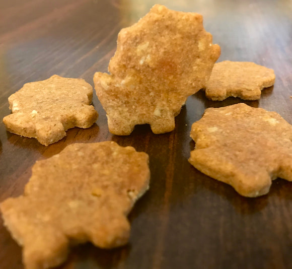 Triceratops Dinosaur Shaped Dog Treats!