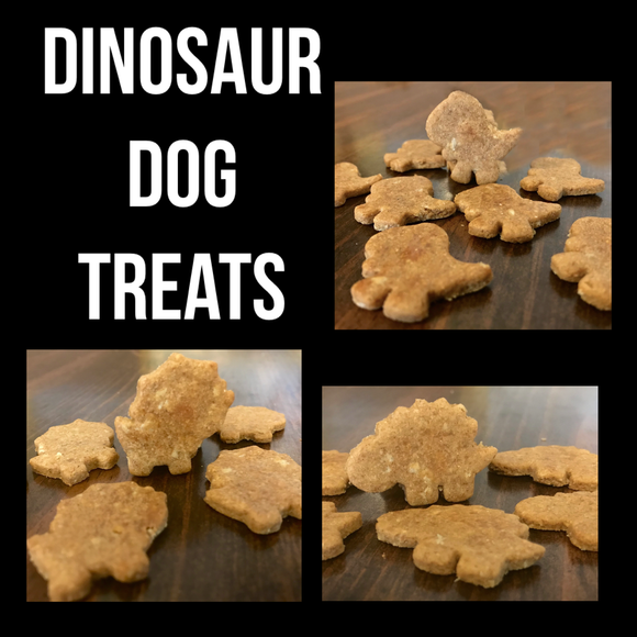 Dinosaur Dog Treat Bundle!