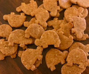 Fire Hydrant Shaped Dog Treats! Peanut Butter flavored!
