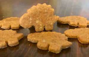 Stegosaurus Dinosaur Shaped Dog Treats!