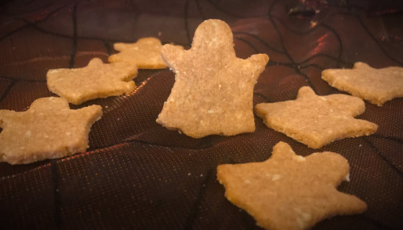 Halloween Ghost Shaped Dog Treats! FUNDRAISER! LIMITED TIME!