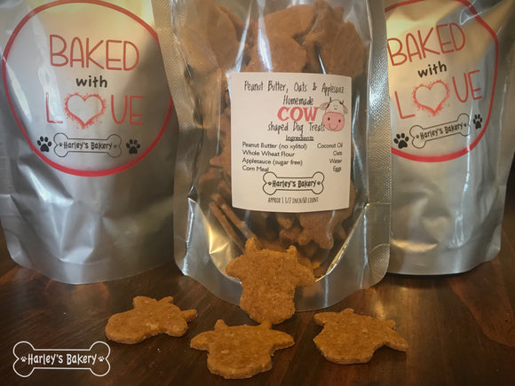 Cow shaped Dog Treats!