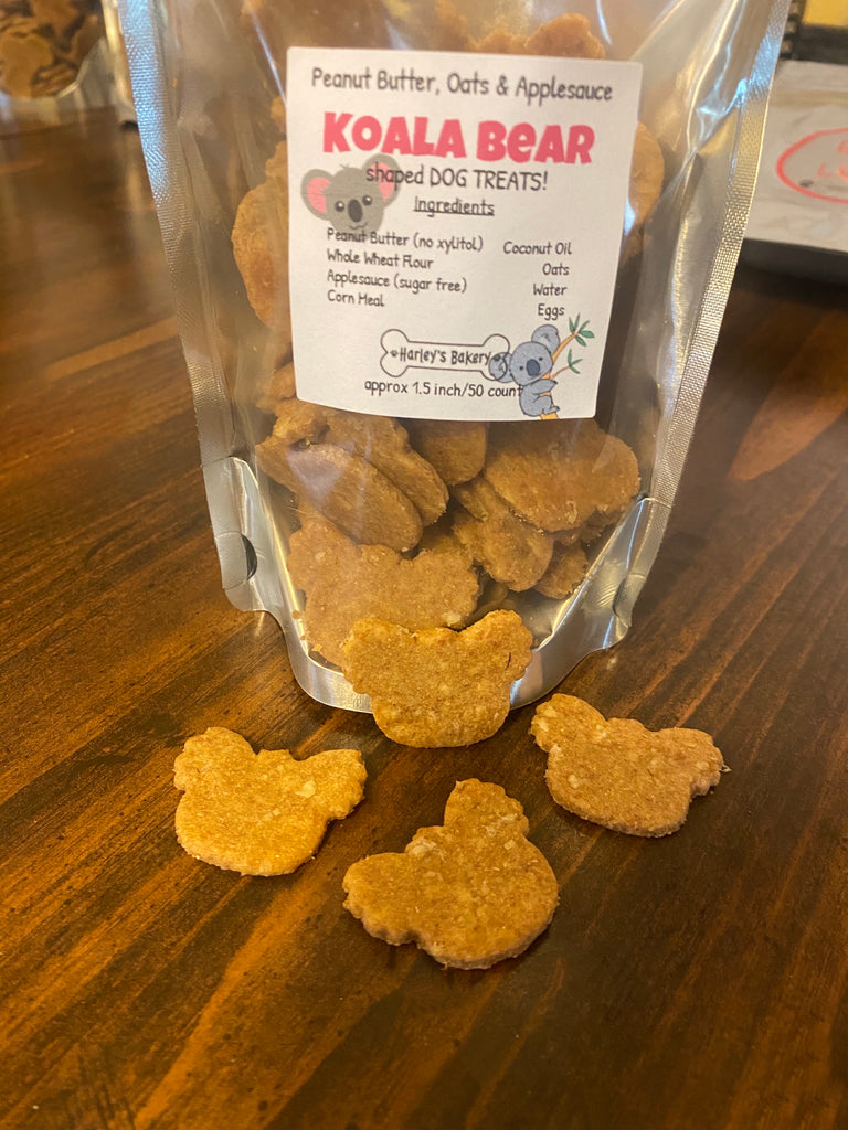 Koala Bear Shaped Dog Treats!