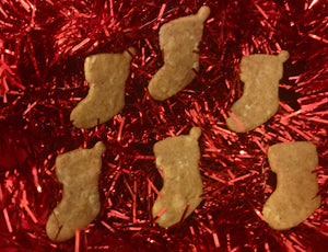 Stocking Shaped Dog Treats!