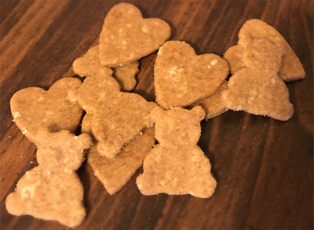 Teddy Bear & Heart Dog Treat Bundle!